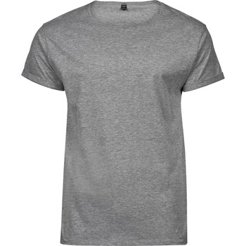 Abbigliamento Uomo T-shirt maniche corte Tee Jays T5062 Grigio screziato