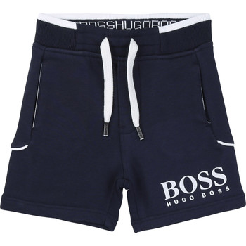 Abbigliamento Bambino Shorts / Bermuda BOSS NOLLA Marine