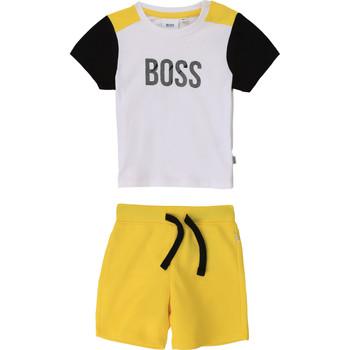Abbigliamento Bambino Completo BOSS COLITA Multicolore
