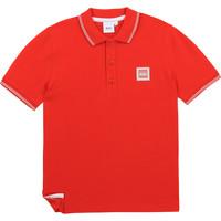Abbigliamento Bambino Polo maniche corte BOSS BARBORA Rosso