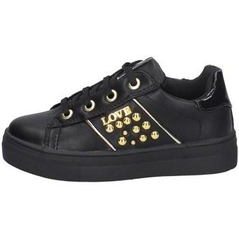 Scarpe Bambina Sneakers basse Asso AG-8602 NERO