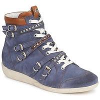 Scarpe Donna Sneakers alte Janet Sport MARGOT ISABEL Blu