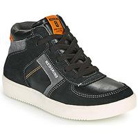 Scarpe Bambino Sneakers alte Redskins LAVAL KID Nero / Antracite