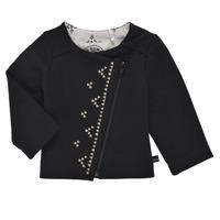 Abbigliamento Bambina Gilet / Cardigan Ikks XS17020-02 Nero