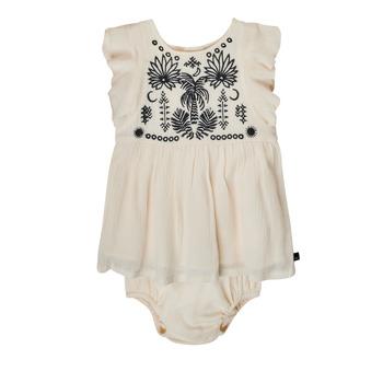 Abbigliamento Bambina Abiti corti Ikks XS30060-11 Bianco
