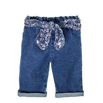 Abbigliamento Bambina Jeans dritti Ikks XS29000-86 Blu