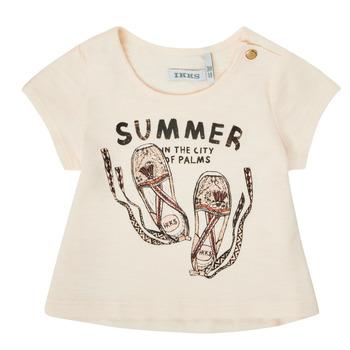 Abbigliamento Bambina T-shirt maniche corte Ikks XS10090-11 Bianco