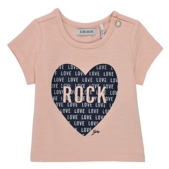 Abbigliamento Bambina T-shirt maniche corte Ikks XS10120-31 Rosa