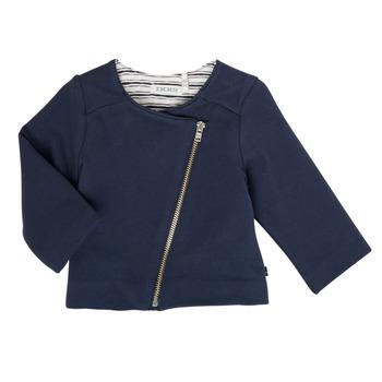 Abbigliamento Bambina Gilet / Cardigan Ikks XS17030-48 Marine