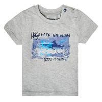 Abbigliamento Bambino T-shirt maniche corte Ikks XS10031-24 Grigio
