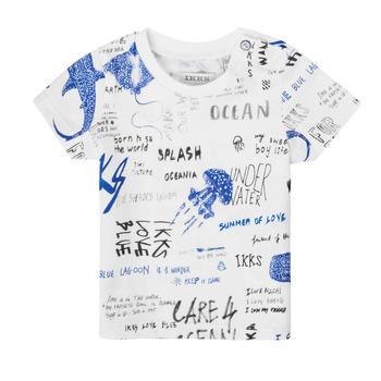 Abbigliamento Bambino T-shirt maniche corte Ikks XS10021-19 Multicolore