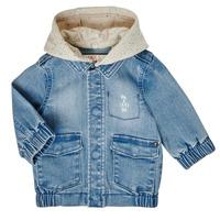 Abbigliamento Bambino Giubbotti Ikks XS40021-84 Blu