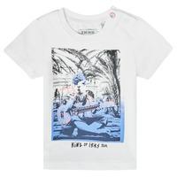 Abbigliamento Bambino T-shirt maniche corte Ikks XS10051-19 Bianco