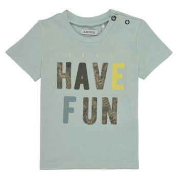 Abbigliamento Bambino T-shirt maniche corte Ikks XS10131-50 Blu