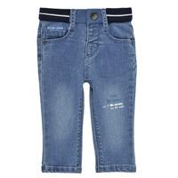 Abbigliamento Bambino Jeans slim Ikks XS29001-83 Blu