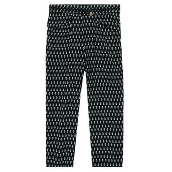 Abbigliamento Bambina Pantaloni morbidi / Pantaloni alla zuava Ikks XS22002-02-J Nero