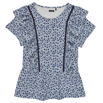 Abbigliamento Bambina Top / Blusa Ikks XS12052-48-J Blu