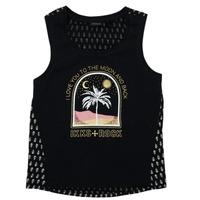 Abbigliamento Bambina T-shirt maniche corte Ikks XS10012-02-J Nero
