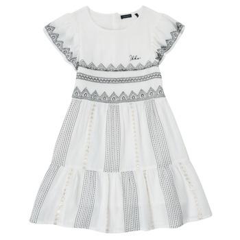 Abbigliamento Bambina Abiti corti Ikks XS30012-11-J Bianco