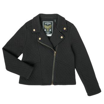 Abbigliamento Bambina Gilet / Cardigan Ikks XS17012-02-J Nero