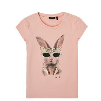 Abbigliamento Bambina T-shirt maniche corte Ikks XS10342-32-J Rosa