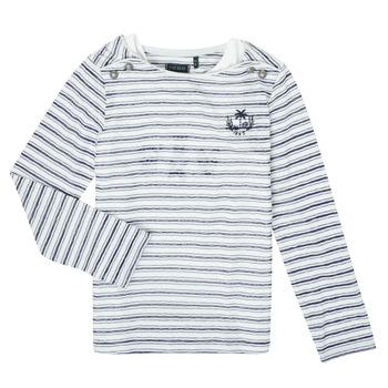 Abbigliamento Bambina T-shirts a maniche lunghe Ikks XS10052-19-C Multicolore