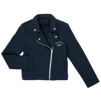 Abbigliamento Bambina Gilet / Cardigan Ikks XS17072-48-C Marine
