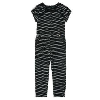 Abbigliamento Bambina Tuta jumpsuit / Salopette Ikks XS32012-02-C Nero