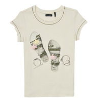 Abbigliamento Bambina T-shirt maniche corte Ikks XS10132-11-C Bianco