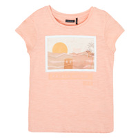 Abbigliamento Bambina T-shirt maniche corte Ikks XS10332-32-C Rosa