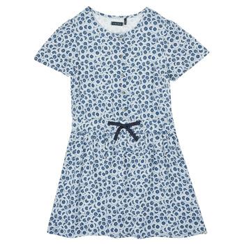 Abbigliamento Bambina Abiti corti Ikks XS30102-48-C Blu