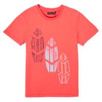Abbigliamento Bambino T-shirt maniche corte Ikks XS10043-79-C Rosso