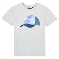 Abbigliamento Bambino T-shirt maniche corte Ikks XS10073-24-C Grigio