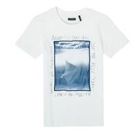 Abbigliamento Bambino T-shirt maniche corte Ikks XS10033-19-C Bianco
