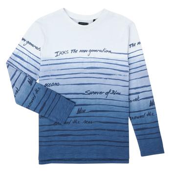 Abbigliamento Bambino T-shirts a maniche lunghe Ikks XS10003-19-C Multicolore