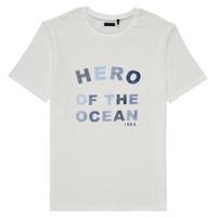 Abbigliamento Bambino T-shirt maniche corte Ikks XS10343-19-C Bianco