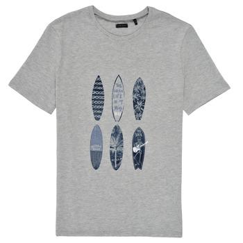 Abbigliamento Bambino T-shirt maniche corte Ikks XS10363-24-C Grigio