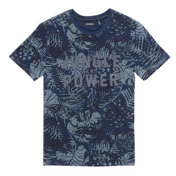 Abbigliamento Bambino T-shirt maniche corte Ikks XS10153-46-C Marine