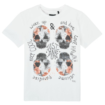Abbigliamento Bambino T-shirt maniche corte Ikks XS10513-19-J Bianco