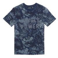 Abbigliamento Bambino T-shirt maniche corte Ikks XS10153-46-J Marine