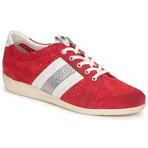 Janet Sport MARGOT ODETTE Rosso  Scarpe Sneakers basse Donna 98,40