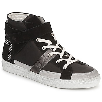 Scarpe Donna Sneakers alte Janet Sport ISABEL MARGETTE Nero