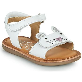 Scarpe Bambina Sandali Mod'8 CLOONIE Bianco