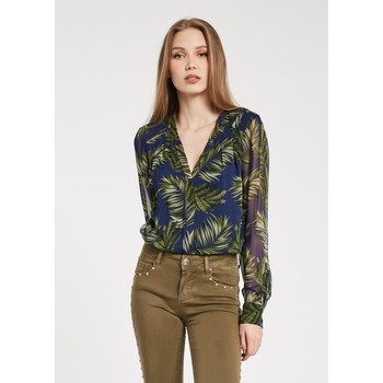 Abbigliamento Donna Camicie Gaudi' ATRMPN-23268 Blu