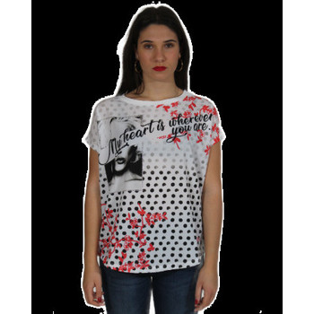 Abbigliamento Donna T-shirt & Polo Gaudi' ATRMPN-23269 Bianco
