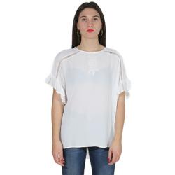 Abbigliamento Donna Camicie Gaudi' ATRMPN-23271 Bianco