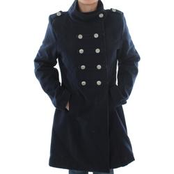Abbigliamento Donna Cappotti Made In Italia ELENA MARINE Azul marino