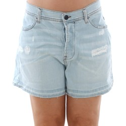 Abbigliamento Donna Shorts / Bermuda Sisley 4Z9R59206 SIS Azul claro