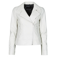 Abbigliamento Donna Giacca in cuoio / simil cuoio Oakwood MARJORY Bianco