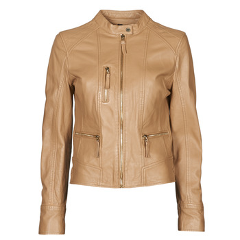 Abbigliamento Donna Giacca in cuoio / simil cuoio Oakwood EACH Camel